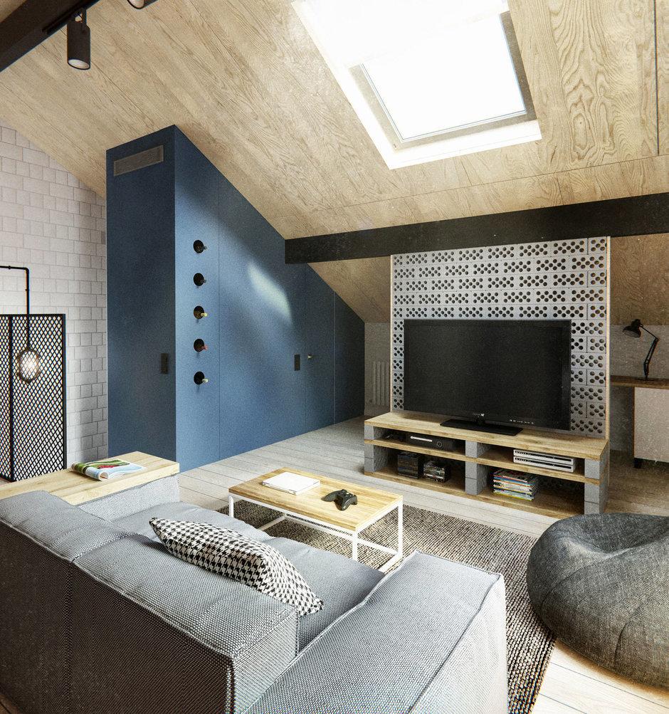 Фотография: Гостиная в стиле Лофт, Дом, Дома и квартиры, IKEA, Проект недели – фото на InMyRoom.ru
