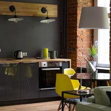 Апартаменты в Хамовниках, метраж 48 кв. м. Дизайн:  Space for Life. Фото: Екатерина Закливенец