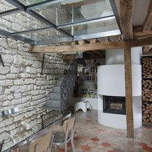 Фотография: Кухня и столовая в стиле Эклектика, Дом, Дома и квартиры, Проект недели – фото на InMyRoom.ru