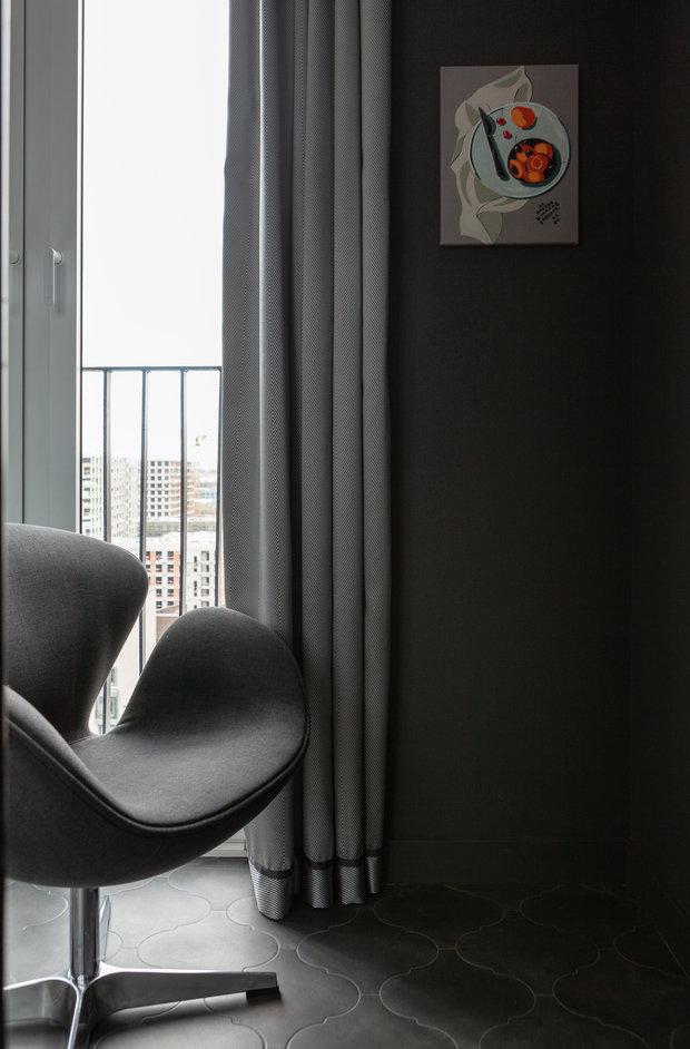Фотография: Балкон в стиле Современный, Квартира, Проект недели, Москва, 3 комнаты, Более 90 метров – фото на INMYROOM