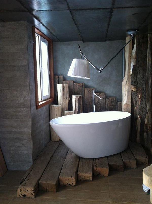 Фотография: Ванная в стиле Лофт, Мебель и свет, Стиль жизни, Советы – фото на InMyRoom.ru