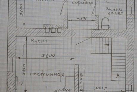 Помогите спланировать пространство спальни, бойлерной и санузла.