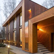 Фото из портфолио Современный частный дом в Подмосковье – фотографии дизайна интерьеров на INMYROOM