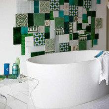 Фотография: Ванная в стиле Современный, Интерьер комнат, Декоративная штукатурка – фото на InMyRoom.ru