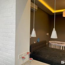 Фото из портфолио Двухкомнатная квартира европланировки под ключ – фотографии дизайна интерьеров на INMYROOM