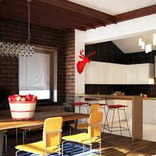 Фотография: Кухня и столовая в стиле Лофт, Скандинавский, Современный, Эклектика – фото на InMyRoom.ru