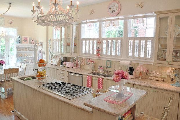 Фотография: Кухня и столовая в стиле , Интерьер комнат, Проект недели, Винтаж – фото на InMyRoom.ru