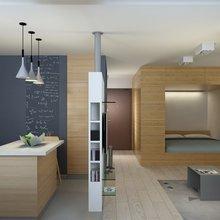 Фотография: Гостиная в стиле Современный, Минимализм, Квартира, Проект недели – фото на InMyRoom.ru