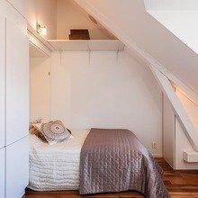Фотография: Спальня в стиле Минимализм, Скандинавский, Квартира, Дома и квартиры – фото на InMyRoom.ru