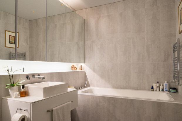 Фотография: Ванная в стиле Современный, Лофт, Квартира, Дома и квартиры, Проект недели – фото на InMyRoom.ru