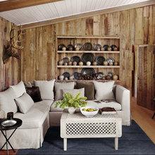 Фотография: Гостиная в стиле Кантри, Кухня и столовая, Дизайн интерьера – фото на InMyRoom.ru