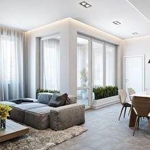 Фотография: Гостиная в стиле Минимализм, Декор интерьера, Квартира, Дом, Дача – фото на InMyRoom.ru