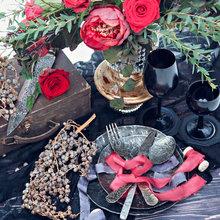 Фото из портфолио MARSALA AND BLACK WINTER WEDDING – фотографии дизайна интерьеров на InMyRoom.ru