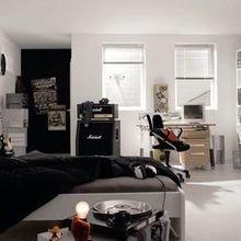 Фотография: Спальня в стиле Скандинавский, Детская, Декор интерьера, Интерьер комнат, Цвет в интерьере, Стены – фото на InMyRoom.ru