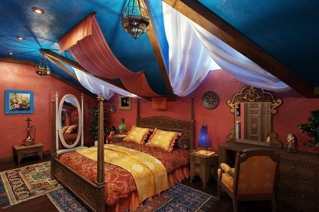 Фотография: Спальня в стиле Восточный, Декор интерьера, Квартира, Дом – фото на INMYROOM
