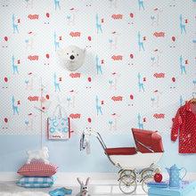 Фотография: Детская в стиле Скандинавский, Декор интерьера, Декор дома, Обои – фото на InMyRoom.ru