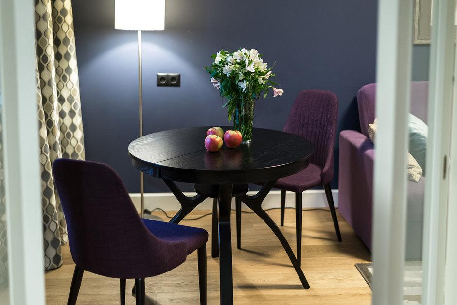 Фотография:  в стиле , Квартира, Проект недели, Москва, Кирпичный дом, 2 комнаты, 60-90 метров – фото на InMyRoom.ru