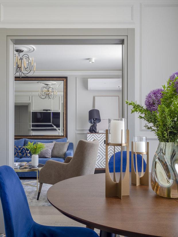 Фотография: Гостиная в стиле Современный, Квартира, Проект недели, Москва, 3 комнаты, 60-90 метров, Bilbao Design – фото на INMYROOM