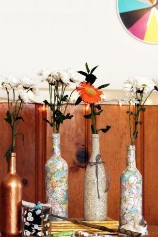 Фотография:  в стиле , Декор интерьера, DIY, Декор, Обои, бюджетный декор, бюджетное обновление интерьера, лайфхаки – фото на InMyRoom.ru