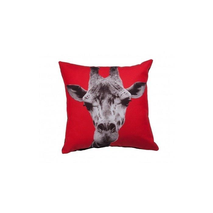 Подушка с принтом Giraffe