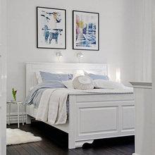 Фотография: Спальня в стиле Скандинавский, Советы, Белый, Анна Коковашина – фото на InMyRoom.ru