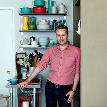 Фотография: Кухня и столовая в стиле Современный, Декор интерьера, Малогабаритная квартира, Квартира, Дома и квартиры, Нью-Йорк, Блошиный рынок – фото на InMyRoom.ru