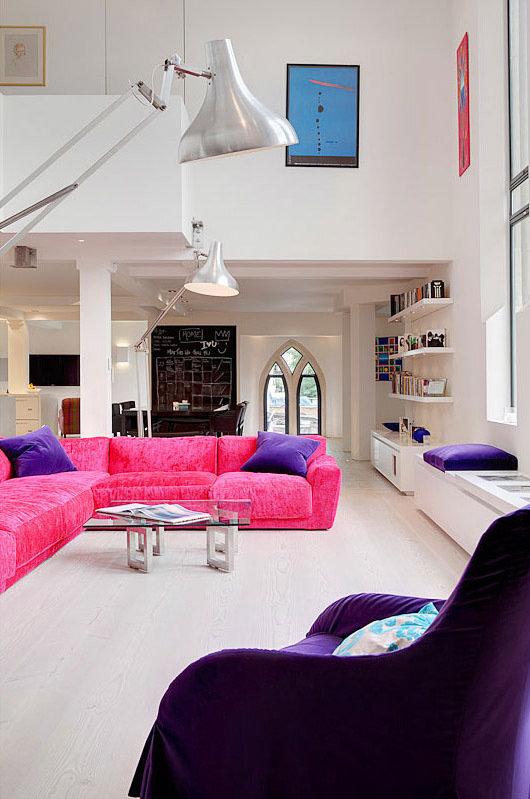 Фотография: Гостиная в стиле Современный, Квартира, Дома и квартиры, Архитектурные объекты – фото на InMyRoom.ru