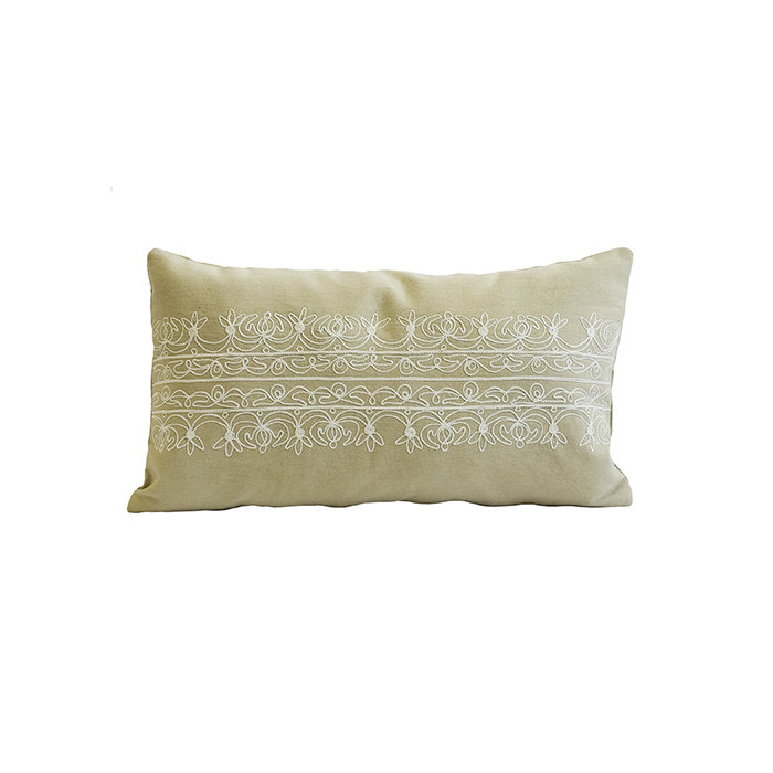 "Декоративная подушка ""Ornamento-II beige"""