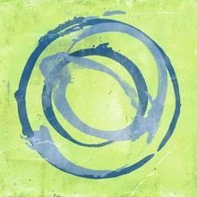 Картина (репродукция, постер): Green blue - Джули Неймила