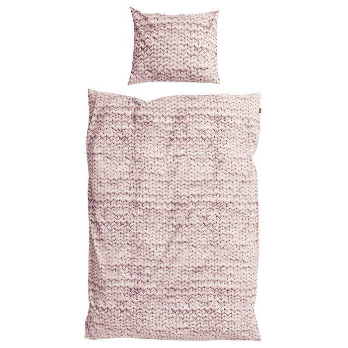 """Комплект постельного белья 150х200 """"Косичка"""" розовый"""