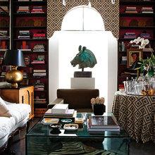 Фотография: Гостиная в стиле Восточный, Эклектика, Декор интерьера, Хранение, Стиль жизни, Советы – фото на InMyRoom.ru