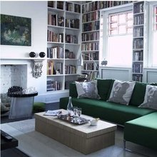 Фото из портфолио домашние библиотеки  – фотографии дизайна интерьеров на InMyRoom.ru