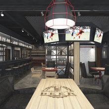 Фото из портфолио спорт бар – фотографии дизайна интерьеров на INMYROOM