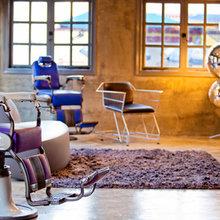 Фотография: Мебель и свет в стиле Лофт, Современный, Эклектика, Дома и квартиры, Городские места, Поп-арт, Индустриальный, Неон – фото на InMyRoom.ru