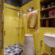 Фотография: Ванная в стиле Эко, Квартира, Проект недели, Денис Соколов, SVOYA STUDIO – фото на InMyRoom.ru