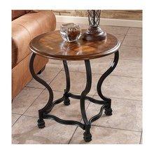 Круглый придиванный столик Wycliffe