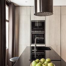 Фотография: Кухня и столовая в стиле Современный, Классический, Квартира, Дома и квартиры, IKEA, Проект недели, Дина Салахова – фото на InMyRoom.ru