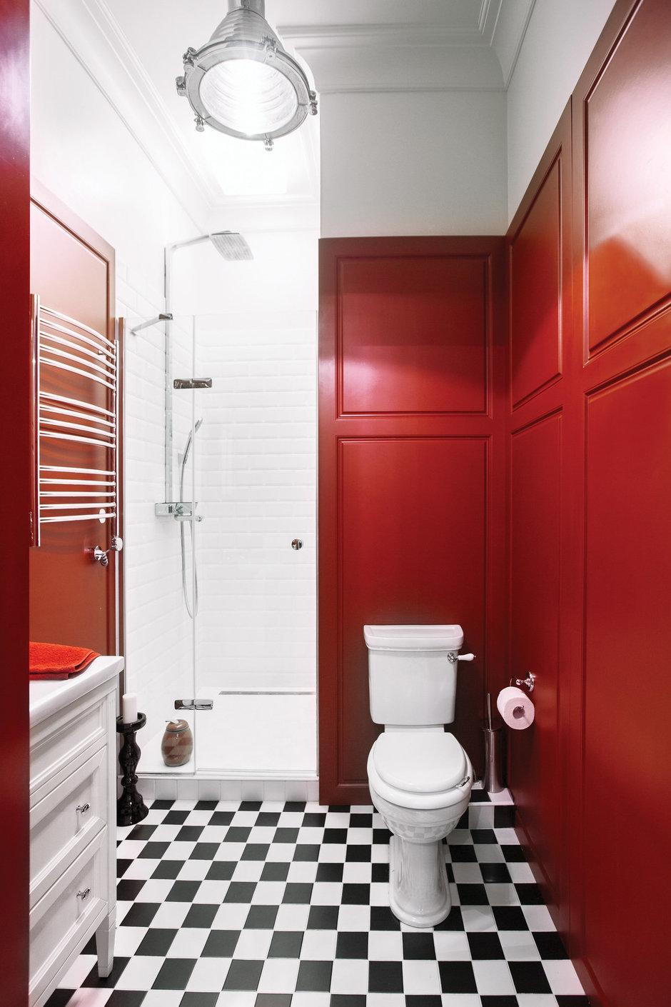 Фотография: Ванная в стиле Лофт, Эклектика, Квартира, Дома и квартиры, Надя Зотова – фото на InMyRoom.ru