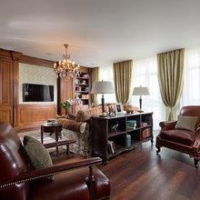 Фотография: Офис в стиле Классический, Квартира, Дома и квартиры, Пентхаус – фото на InMyRoom.ru