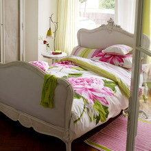 Фотография: Спальня в стиле Кантри, Декор интерьера, Декор дома, Текстиль, Подушки, Свечи, Плед – фото на InMyRoom.ru