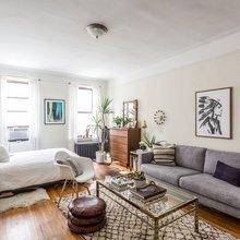 Фото из портфолио 1-комнатная квартира в Нью-Йорке – фотографии дизайна интерьеров на InMyRoom.ru