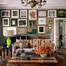 Фотография: Гостиная в стиле Кантри, Восточный, Декор интерьера, Дом, Декор, Декор дома, Цвет в интерьере – фото на InMyRoom.ru