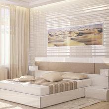 Фото из портфолио Дизайн интерьера спальни. Квартира. Киев 2014 – фотографии дизайна интерьеров на INMYROOM
