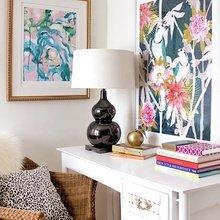 Фотография: Офис в стиле Классический, Современный, Текстиль, Стиль жизни, Советы, Цветы – фото на InMyRoom.ru