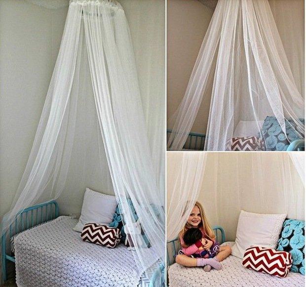 Фотография: Прочее в стиле , Спальня, Декор интерьера, Мебель и свет, Балдахин – фото на InMyRoom.ru