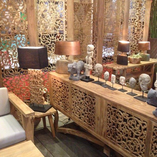 Фотография: Мебель и свет в стиле Эко,  – фото на InMyRoom.ru