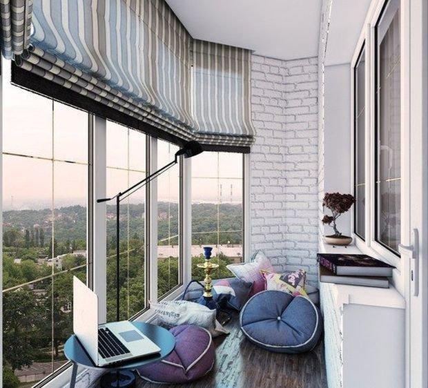 Идеи на балкон 40