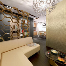 Фото из портфолио Трехкомнатная квартира в жилом комплексе «Богородский» в Москве. – фотографии дизайна интерьеров на INMYROOM