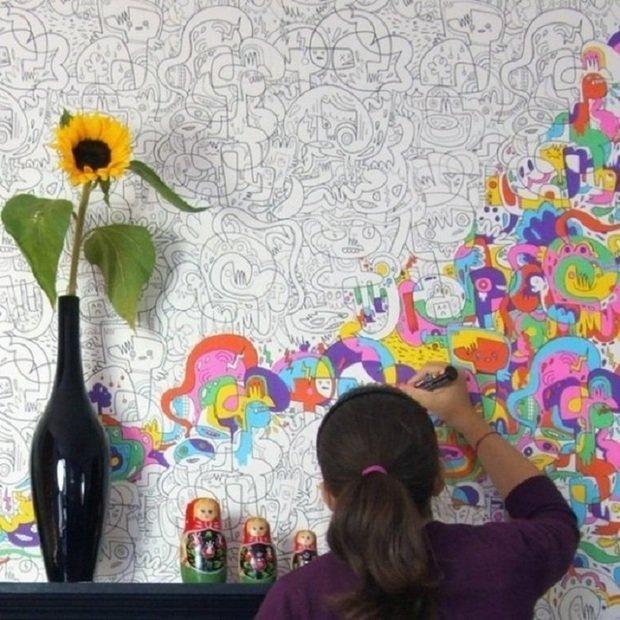Фотография: Прочее в стиле , Декор интерьера, DIY, Декор дома, Фотообои – фото на InMyRoom.ru