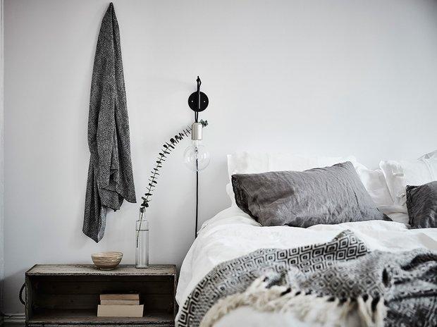 Фотография: Спальня в стиле Минимализм, Советы, квартира под сдачу, Ольга Дуквен, Домострой – фото на INMYROOM